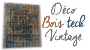 Cours Gratuits tableau Deco-bois-teck