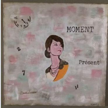 Moment présent N° 2 Chantal Pénot
