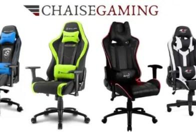 Chaises Gaming – 7 raisons pour lesquelles vous devriez en avoir une à la maison