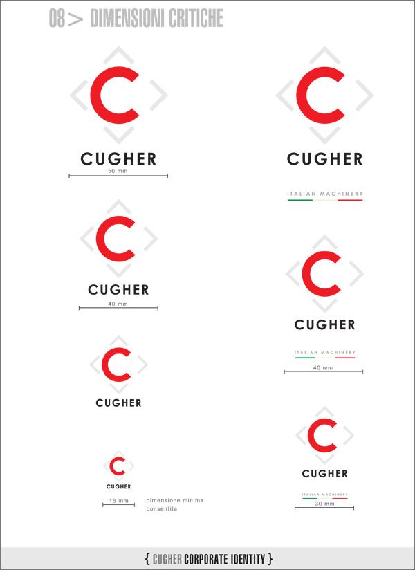 Progetto grafico nuovo Logotipo Cugher