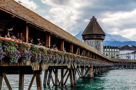 cosa-vedere-in-svizzera-lucerna-Kapellbrücke
