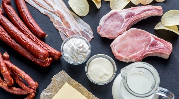 Resultado de imagen para acido estearico en alimentos