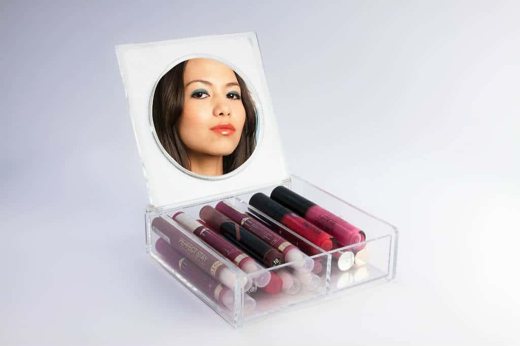 Makeup Opbevaring 2020 19 Smarte Trae Akryl Bokse I Flot Design