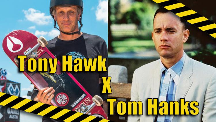 Trocando as Bolas: Tony Hawk x Tom Hanks