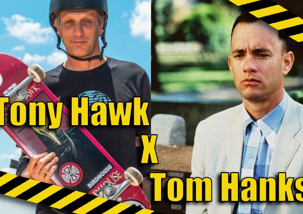 Trocando as Bolas: Tony Hawk x Tom Hanks
