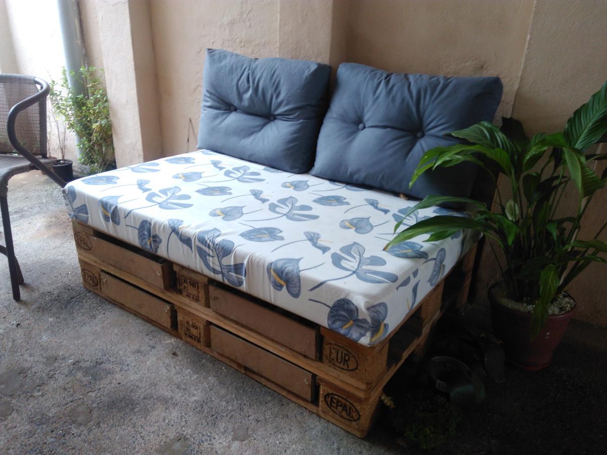 diy sofa from pallets cloud ii sectional sofá de pallet 105 modelos fotos e passo a