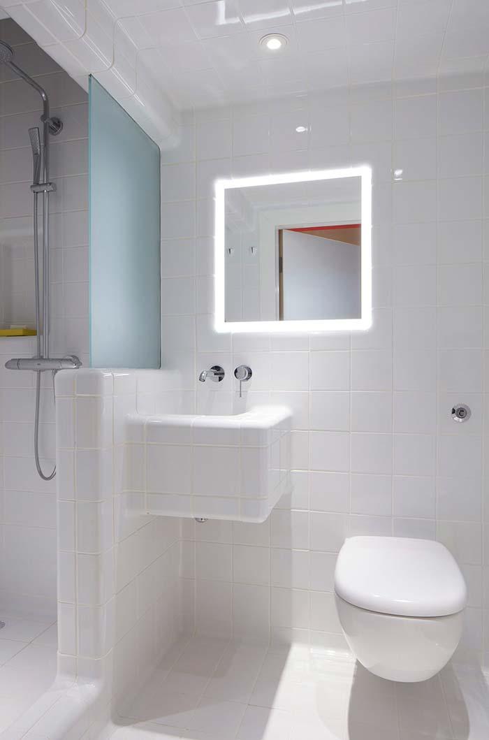 Banheiros Pequenos Decorados 100 Ideias Fotos e Projetos