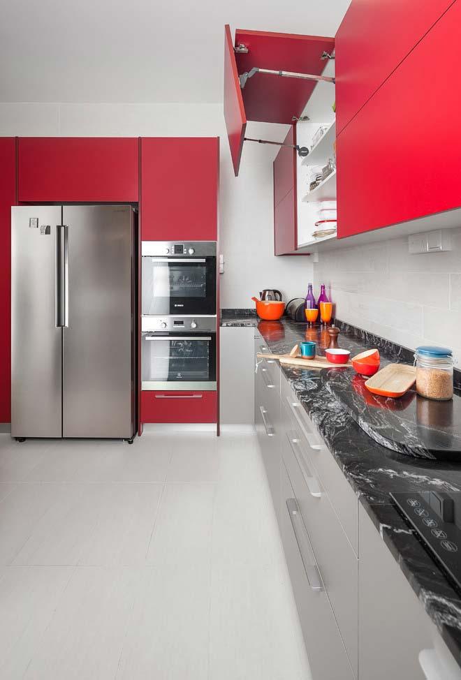 Cozinha Vermelha 65 Modelos Fotos E Projetos Perfeitos