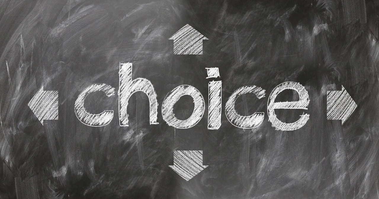 escolhas, decisões, impacto