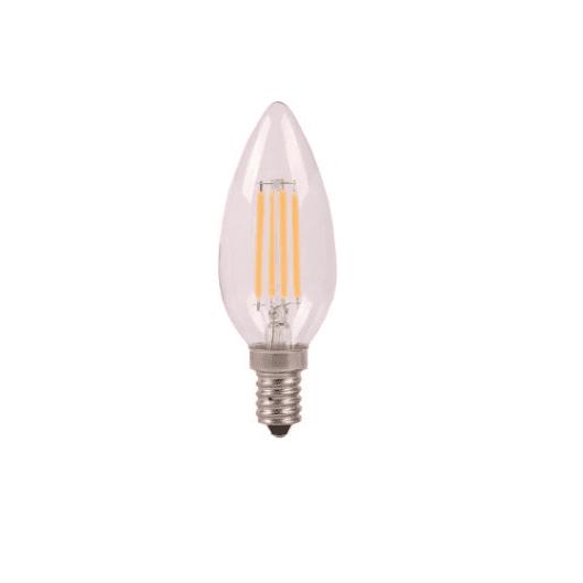 EDISON - Ampoule Filament E14 C37 6W