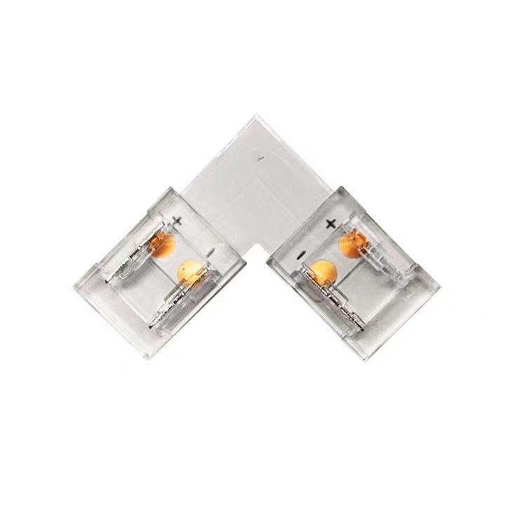 121024 Connecteur coude L ruban 24V COB et 240LEDs/m