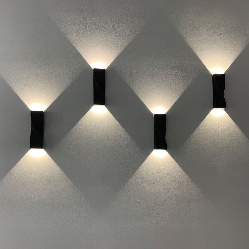 BOLOGNE - APPLIQUE LED Double Face 2X3W CCT Tricolor IP65IK06 (2)