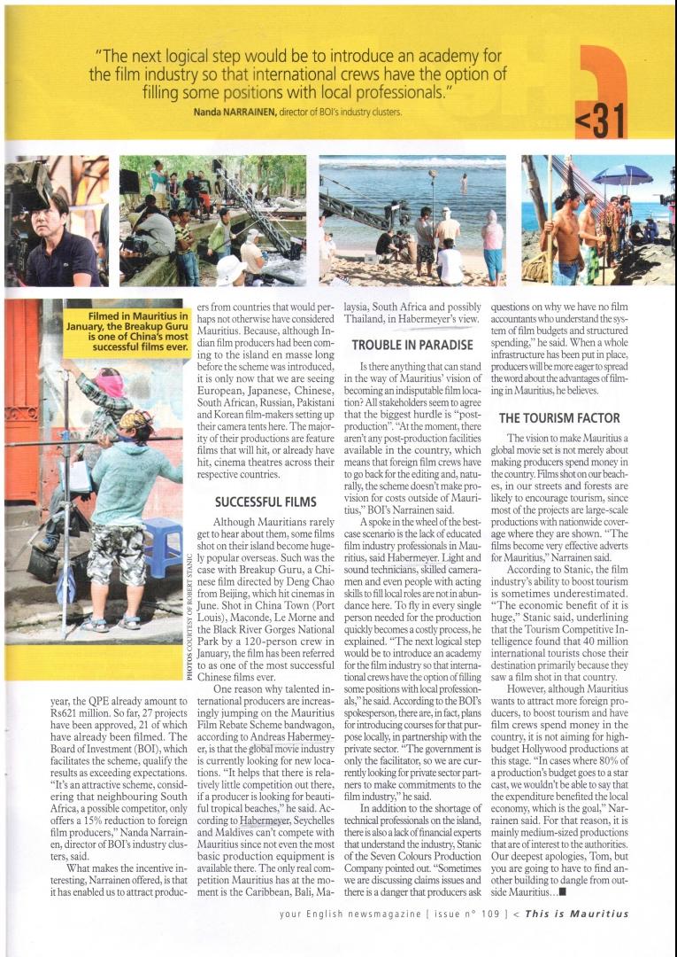 Film rebate scheme Weekly mauritius page 2