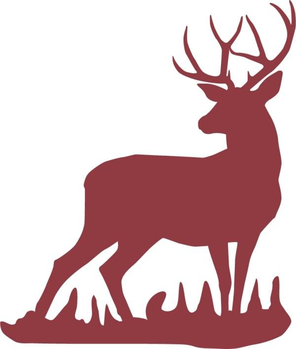 Mule Deer Buck Wall Decal