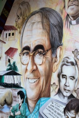 Mural at Father Jon Cortina's House
