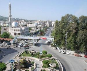 Centrul oraşului Baniyas (Siria)