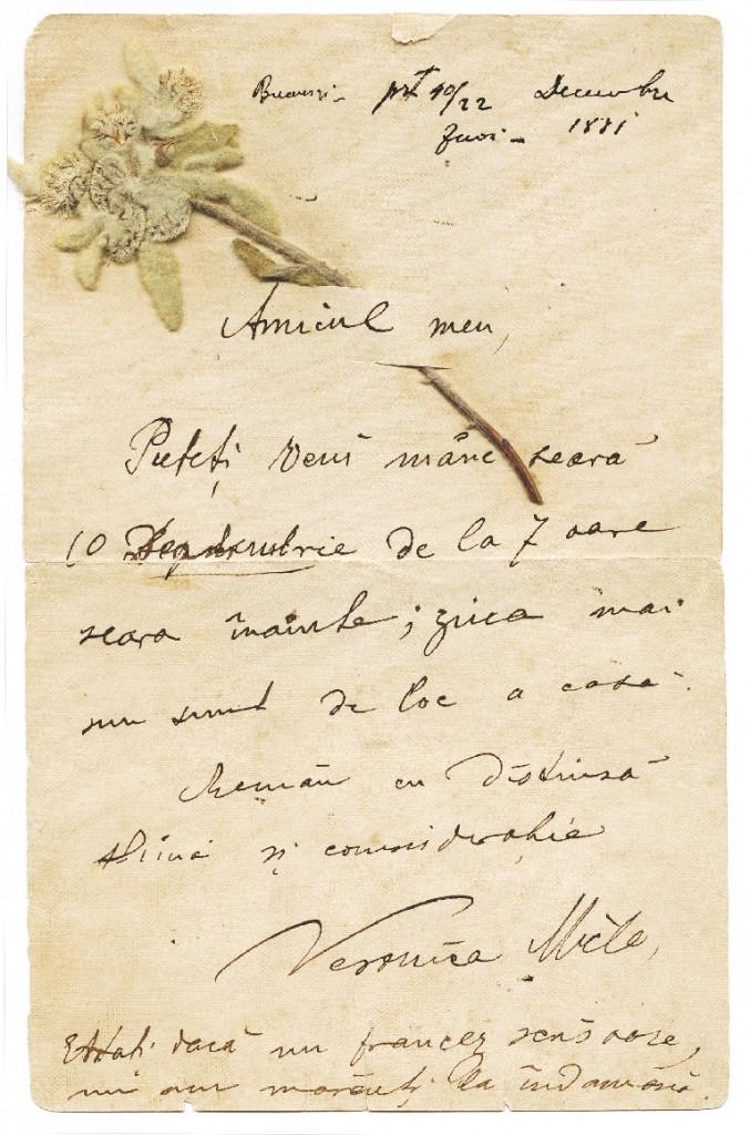 Scrisoare-Veronica-Micle-catre-Mihai-Eminescu-677x1024