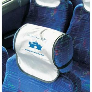 chair headrest cover covers hire brisbane custom printed convention bus head rest