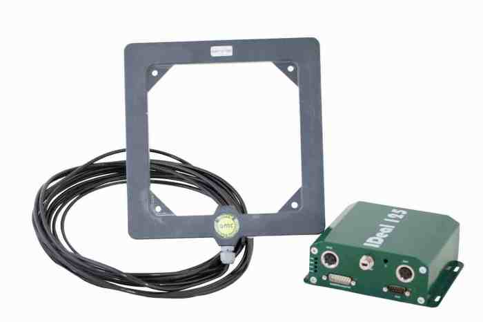 ideal125 rfid reader and ideal125a rfid antenna