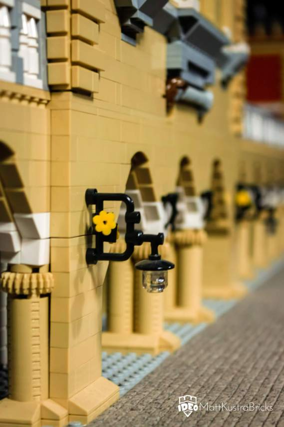 Cloths hall Krakow LEGO moc makes dreams come true - by Matt Kustra for Historyland