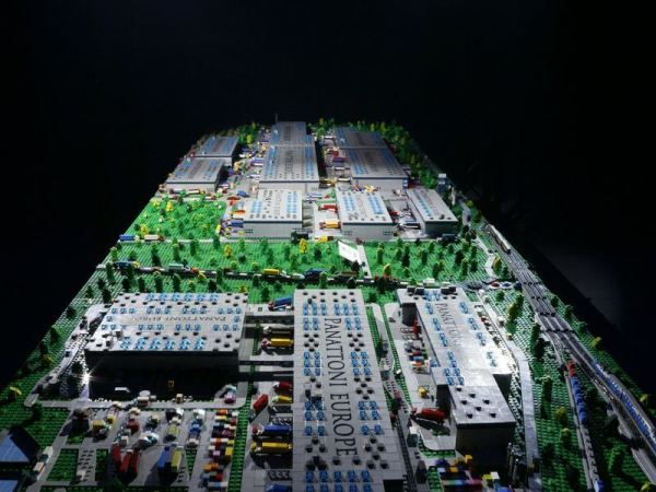 Your company made of LEGO® bricks