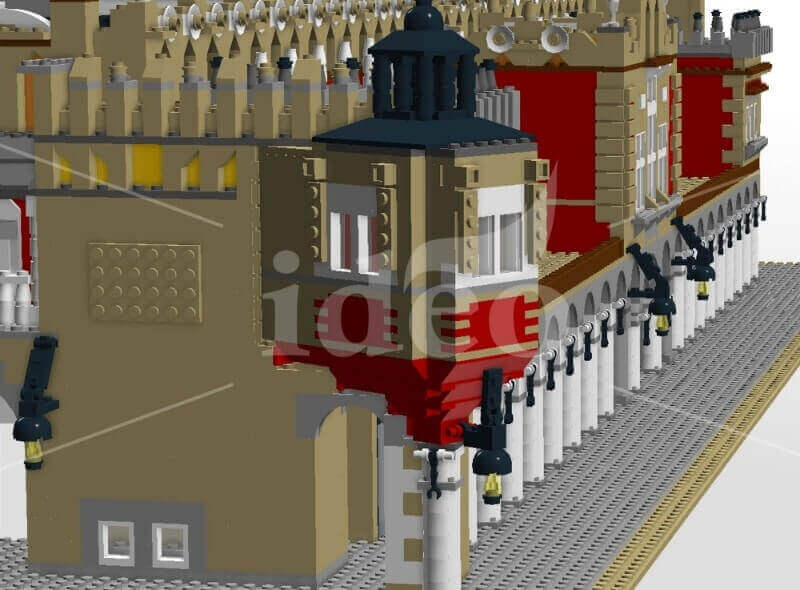 We are gather for Krakow Lego Cloth Hall in Cracow (professional