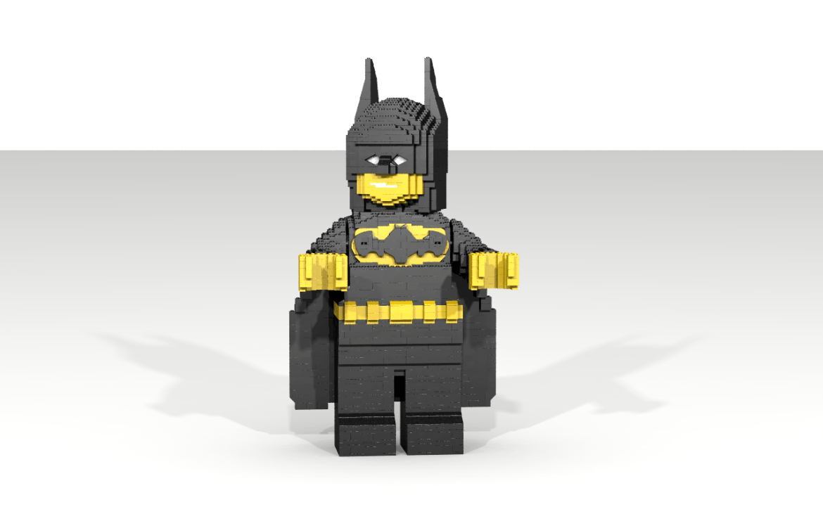 batman lego models sculptures instructions