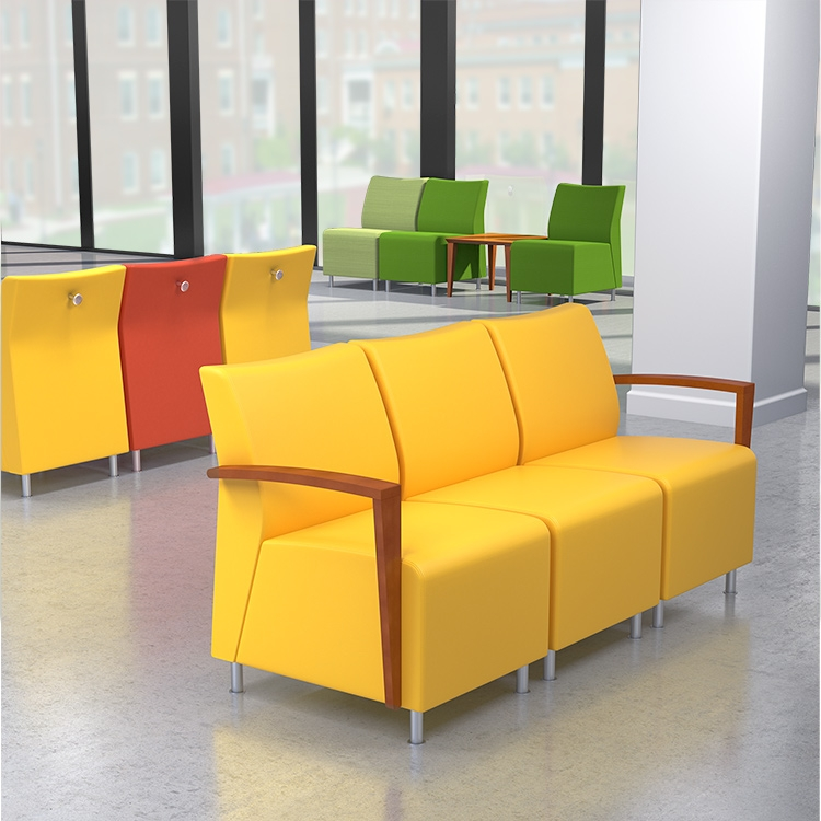 steel chair joints faux leather dining chairs visit modular | club lounge seating ideon