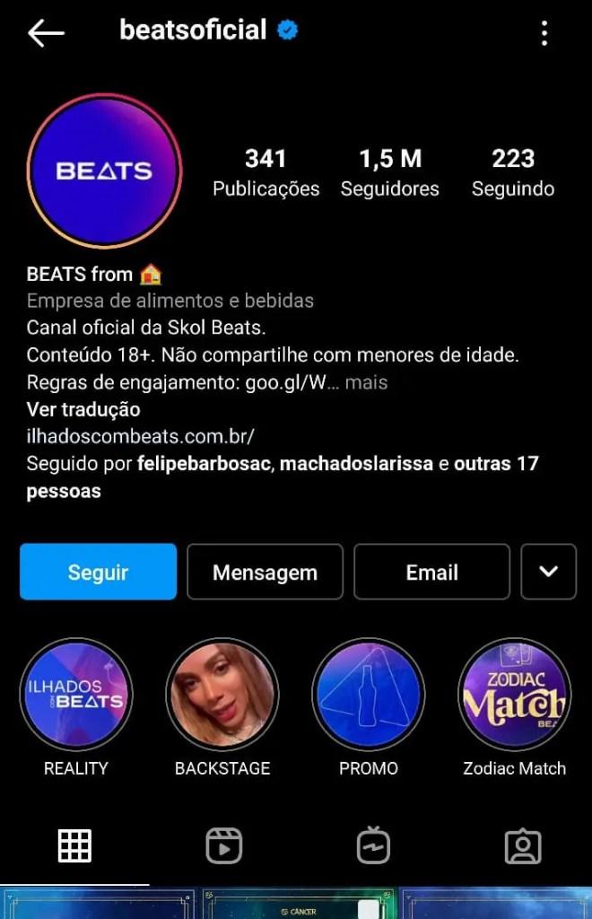 Instagram Beats Oficial