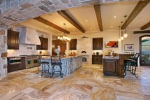 Tuscan Farmhouse Kitchen Interiors