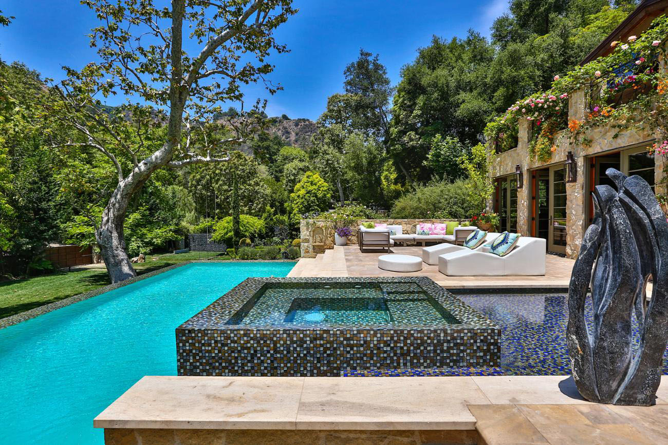 Exquisite French Country Style Gated Mansion In Bel Air