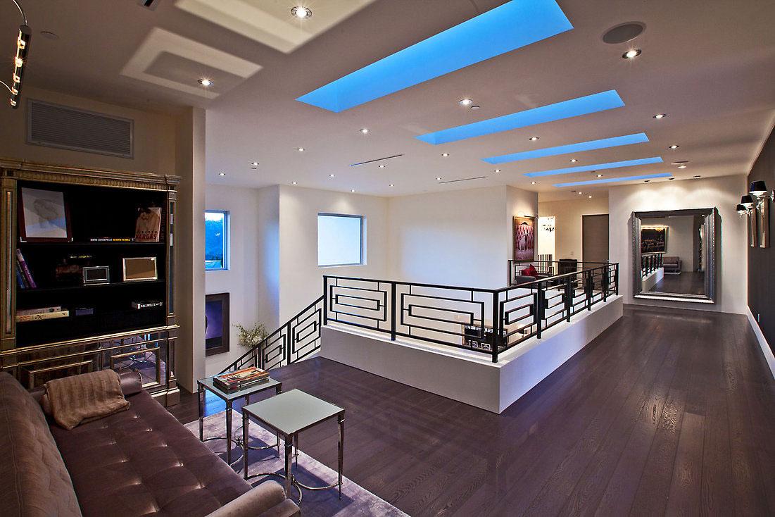 Glamorous Contemporary Living In Los Angeles  iDesignArch  Interior Design Architecture