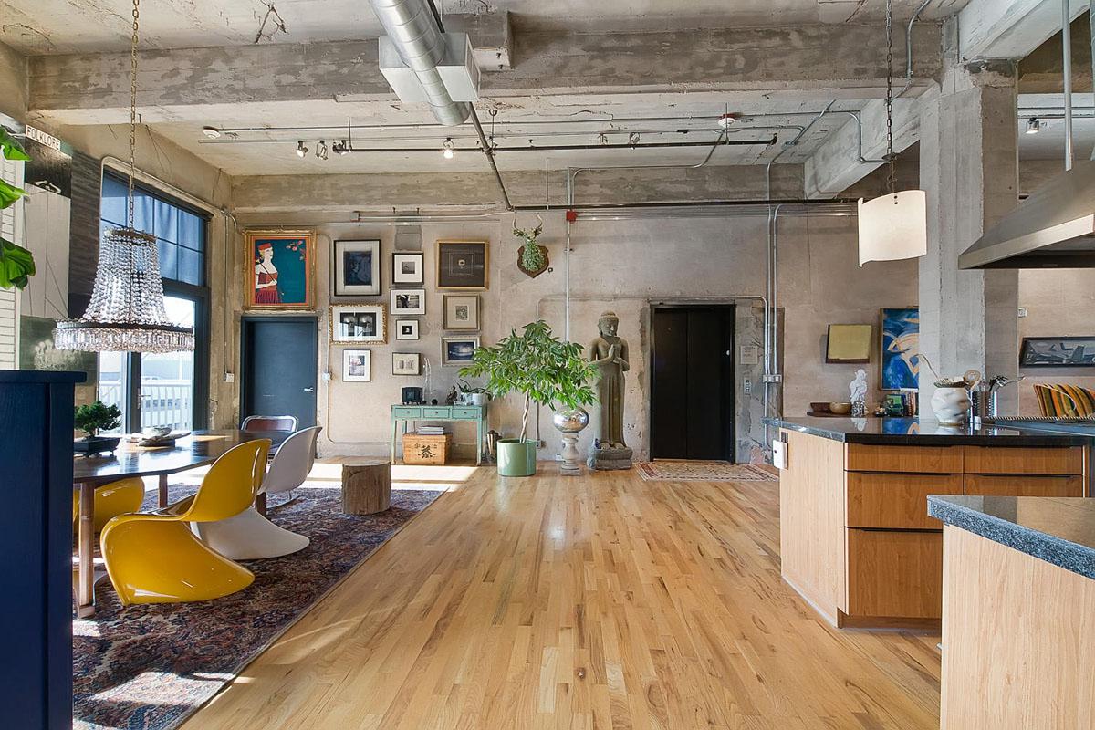 Stylish Flour Mill Loft In Denver  iDesignArch  Interior