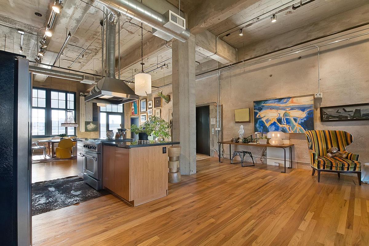 Stylish Flour Mill Loft In Denver  iDesignArch  Interior Design Architecture  Interior