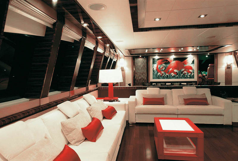 Luxury Yacht Dragon Interiors  iDesignArch  Interior