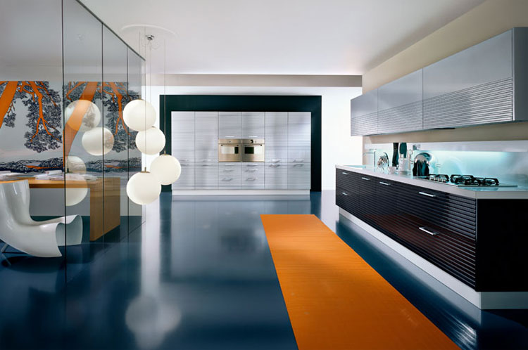 prefab outdoor kitchen cabinets chairs on rollers luxury modern kitchens by pedini | idesignarch interior ...