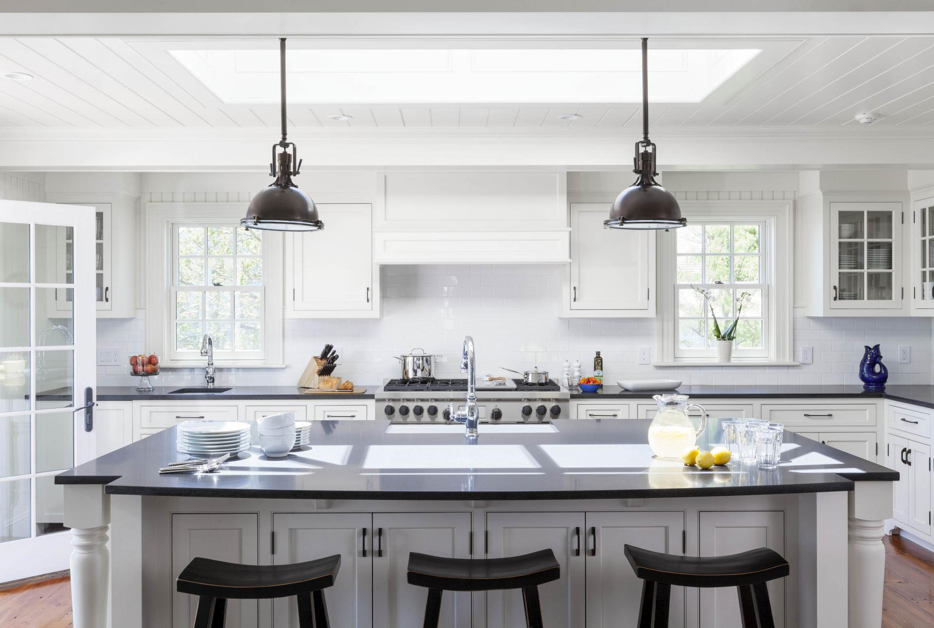 Family Home With New England Colonial Architecture On Marthas Vineyard  iDesignArch  Interior