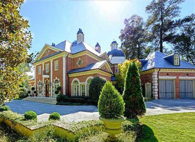 french country kitchen accessories cabinets indianapolis stunning gated estate in atlanta with grand staircase ...