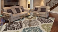 Living Rooms With Area Rugs