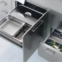 Metal Cabinets Kitchen Kraus Sinks Italian Designed Ergonomic And Hygienic Stainless Steel ...