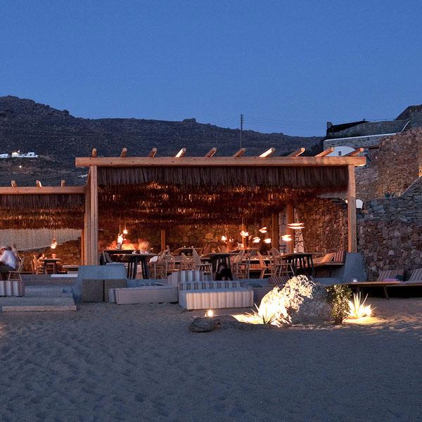 Alemagou Restaurant In Mykonos  iDesignArch  Interior