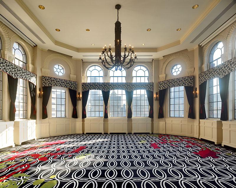 Elegant Art Deco Design Of The Allerton Hotel Chicago