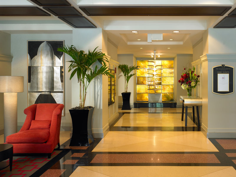 Elegant Art Deco Design Of The Allerton Hotel Chicago