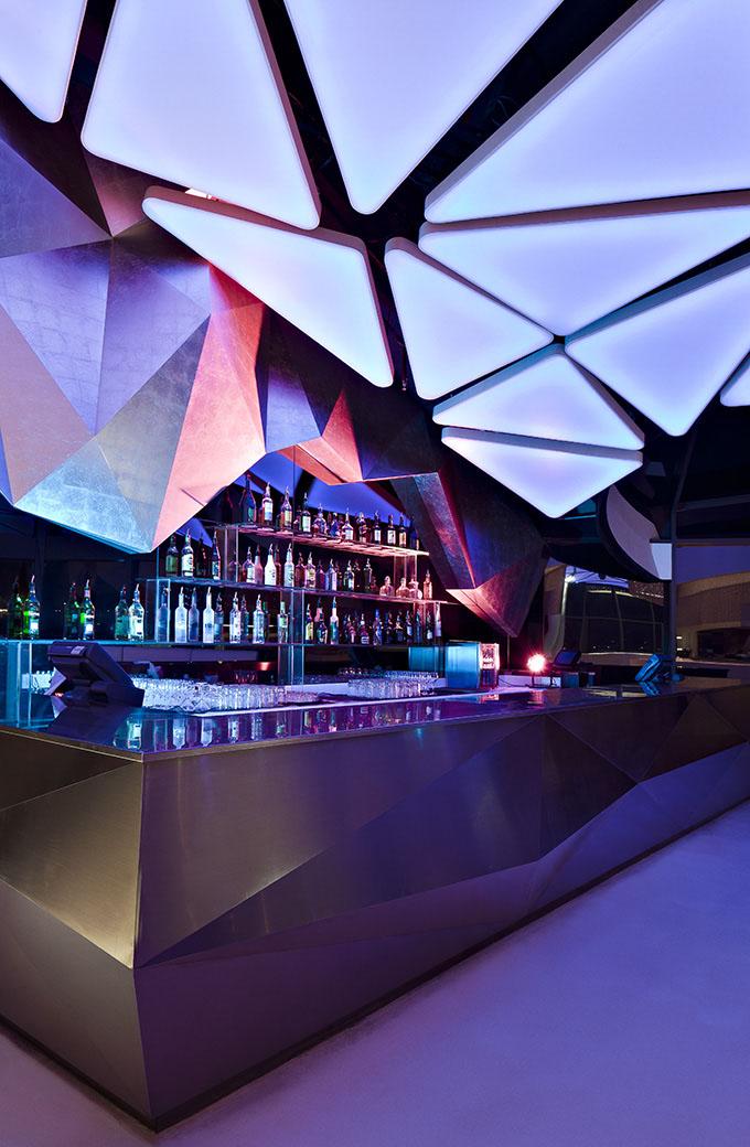 Allure Nightclub In Abu Dhabi  iDesignArch  Interior Design Architecture  Interior