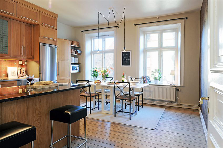 Beautiful Apartment Interior Design In Sweden  iDesignArch  Interior Design Architecture