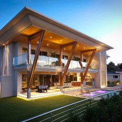 Apple Valley Kitchen Cabinets Backsplashes Ultra Modern Home In Perth With Large Roof | Idesignarch ...