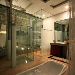 Kitchen Island Chairs Kohler Faucet Architectural House In South Korea | Idesignarch ...