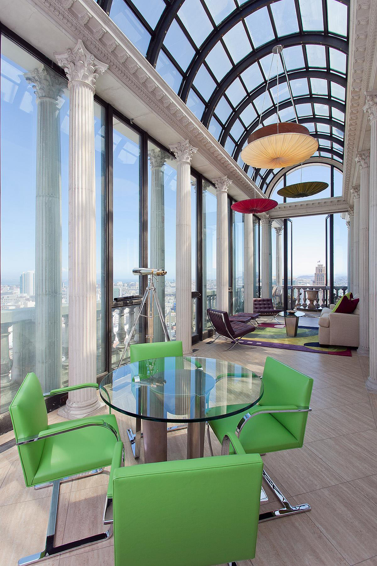 Exquisite Penthouse Atop The Art Deco Hamilton Building In