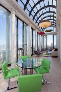 Exquisite Penthouse Atop Art Deco Hamilton Building In