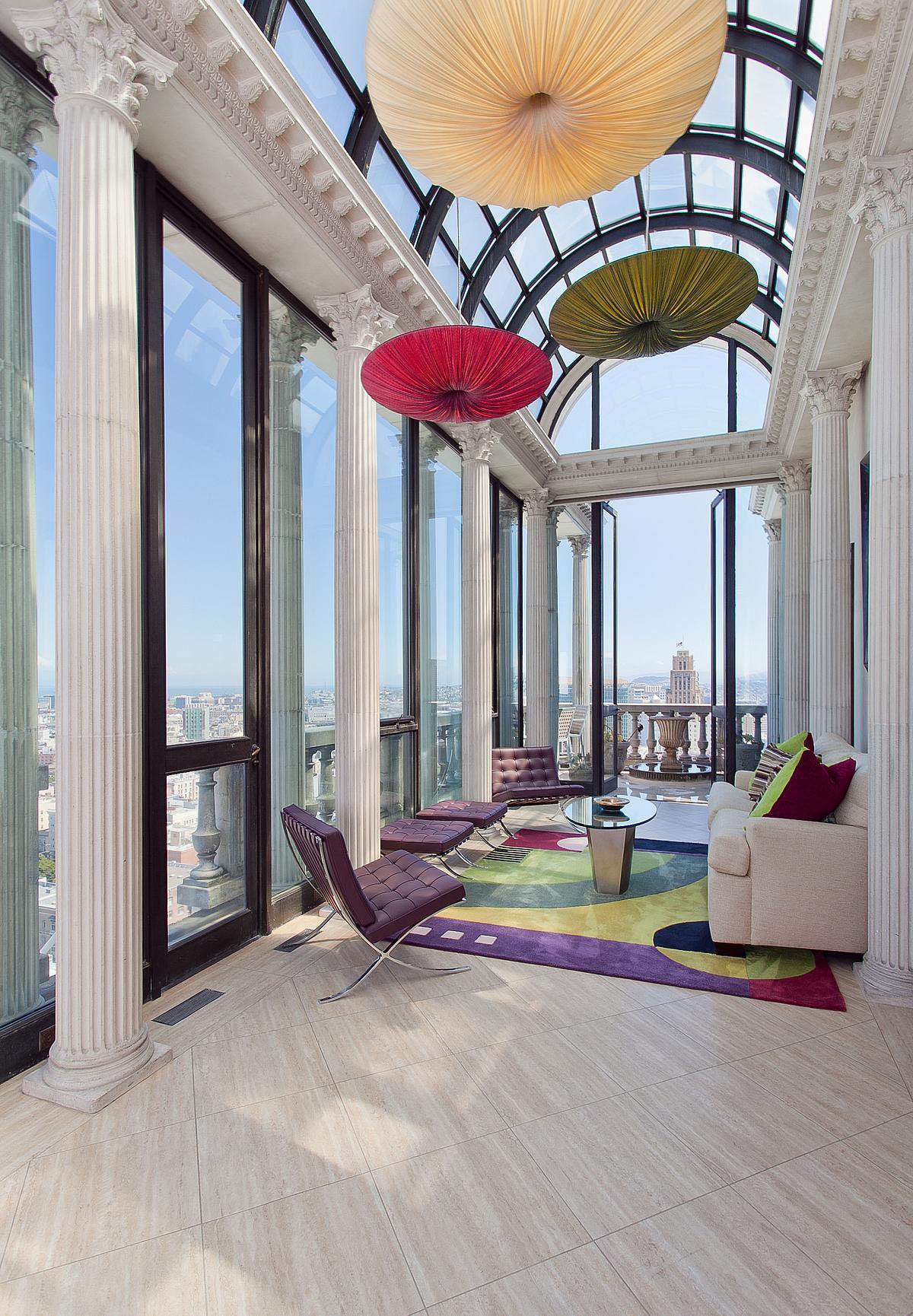 Exquisite Penthouse Atop The Art Deco Hamilton Building In San Francisco  iDesignArch